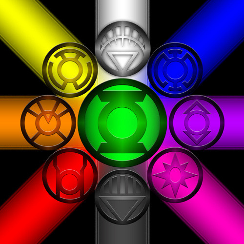 All the different Corps from Green Lantern