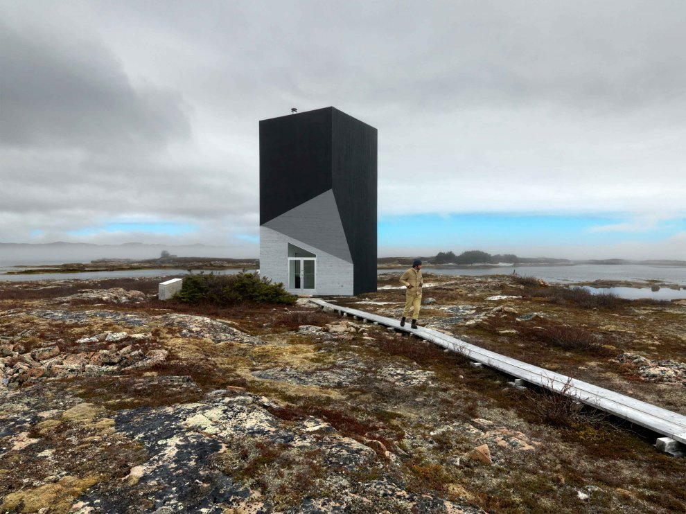 Tower Studio in Newfoundland (via Saunders Architecture)