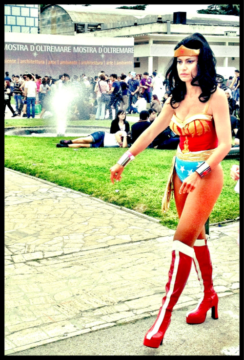 Wonder woman (Comicon 2012, Napoli, Italia)