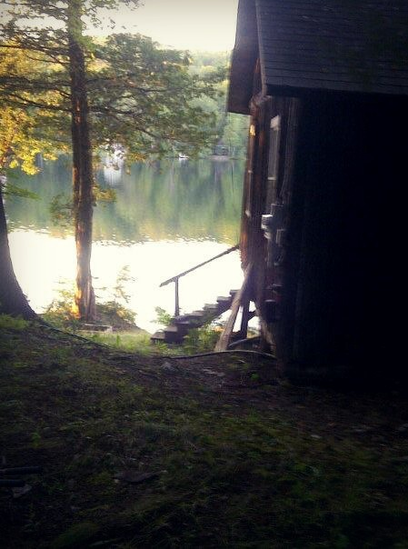 kimmiexbear:  Dad's cabin in Maine.