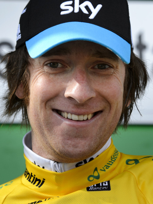 fuckyeahcycling:  Bradley Wiggins and his hair, after they won the Tour de Romandie. (via Yahoo! Sports Photos)