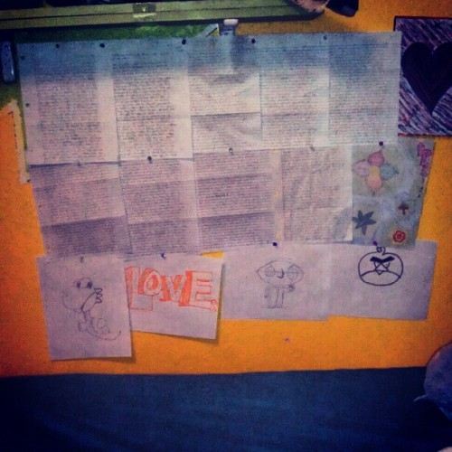 Mii wall doe (Taken with instagram)