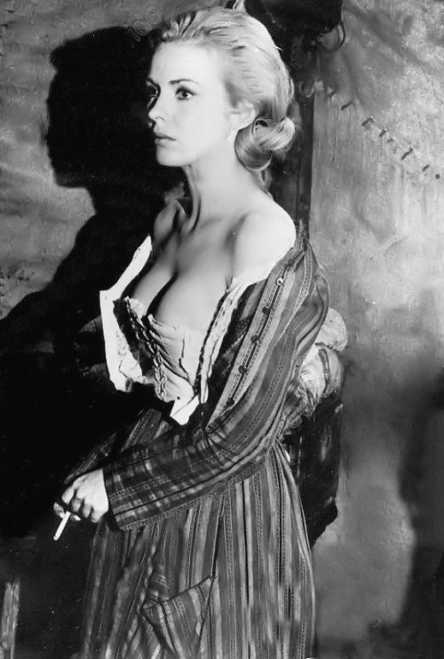 Jean Seberg On The Set Of 'Paint Your Wagon' - 1969 http://betterwithpopcorn.com