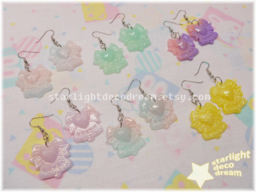 Pure Heart's Bell Earrings ~ ♫