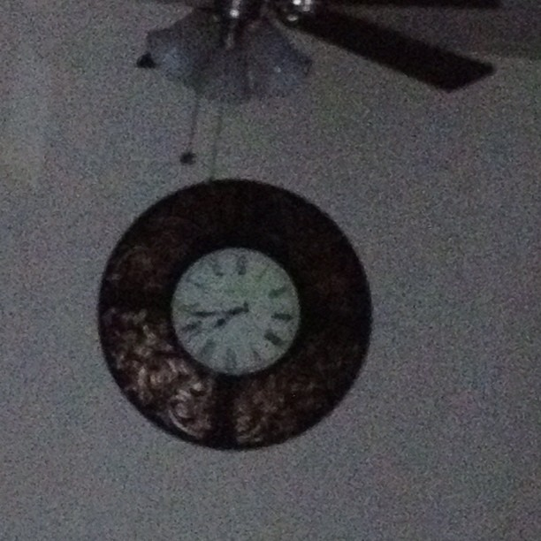 #aprilphotoaday day 29- circle. The clock in my dining room  (Taken with instagram)