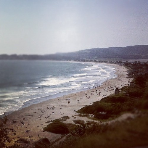 Sunny Day At The Beach  | #california #coast #marin #county #sanfrancisco #adventure #friends #instagood #iphone4 #iphoneography #igers #igers_sf (Taken with Instagram at Stinson Beach)