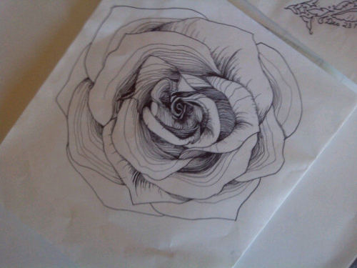 tattoo im getting on my thigh (:
