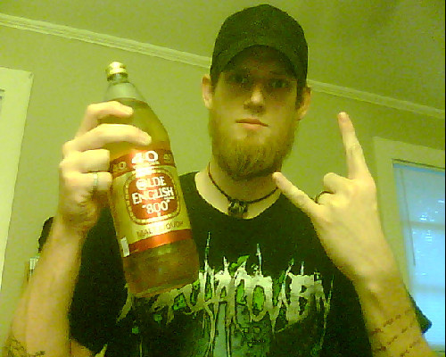 Malt Liquor Sunday in the South. Party people make some noise.
