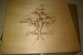 wildflowerveins:  Have a line of your poetry or prose burned into wood!  Hi! So this was partially inspired by burning muse's tag 'burningwords' and partially inspired by the wood burning set I got a few weeks ago. I've decided to give away a piece of wood (not sure what kind yet) with a line of your poetry or prose burnt into it.  I'll use random.org to pick 10 people who reblogged it and those ten submit a line of writing (no more than 12 words) to my blog. I'll pick my favorite and send them their line burned into wood. :D I've practiced a bit and I'll have pictures of my attempts (lol some of them are horrendous) up pretty soon.  Rules: Must be following me Reblog this post (up to 5 times). You can like this post. Winner will be chosen June 1st. You must have your ask box open so I can contact you. If you don't respond within a week, I'll pick someone else. I'll ship for free unless you live in Uganda or something. No plagiarism, please. IT MUST BE A LINE THAT YOU WROTE. I want at leeeast 50 people entering. I think that's pretty fair. No giveaway blogs! They're cheap! You can ask me any questions in my ask box. :] Thanks! I hope you all enter! xoxo