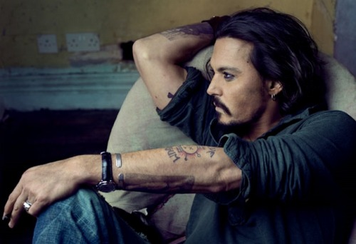 nicoun:  Vanity Fair January 2011 - Johnny Depp by Annie Leibovitz