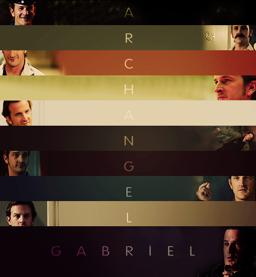 supernatural meme: six side characters [4/6] gabriel