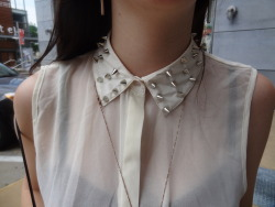 urban outfitters studded collar