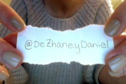 The winner of the contest is @DeZhaneyDaniel  (~Cupcake Bandit~)!! Congratulations! Stay tuned for the next contest soon!