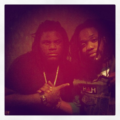 Backstage with the homie @FATTREL ( @fat_gleesh ). Family from way back, G. #SluttyBoyz #SBSB  (Taken with instagram)