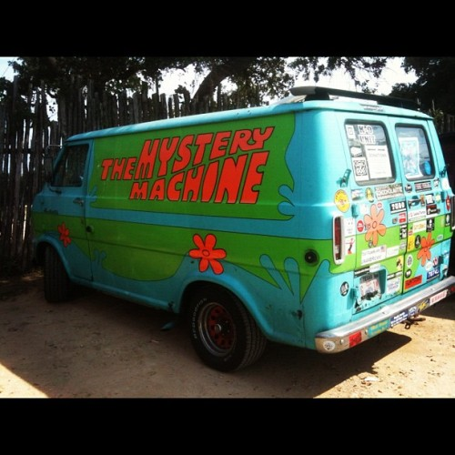The Mystery Machine #IRL ~ Scooby-Doo, Where are you? ~ No sign of #FredJones #DapheBlake #VelmaDinkley or #NorvilleShaggyRogers either… Seen in South South #ATX @ the Nutty Brown  #ScoobyDoo  #ScoobySnacks #TheMysteryMachine #Cartoons #HannaBarbera #KeepAustinWeird #dope  (Taken with instagram)