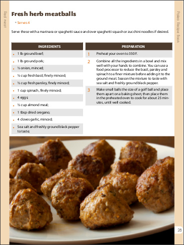 Mmmm what a mean meatball recipe!!! Click on the pic now to get your copy!