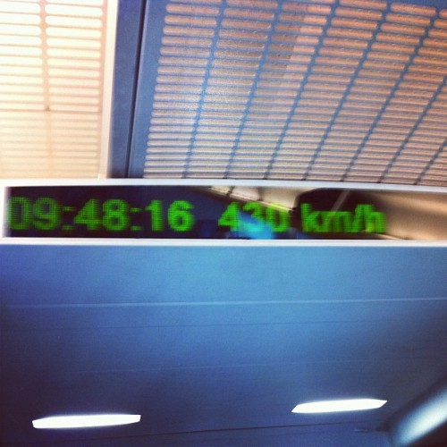 Really fast. #travel  (Taken with instagram)