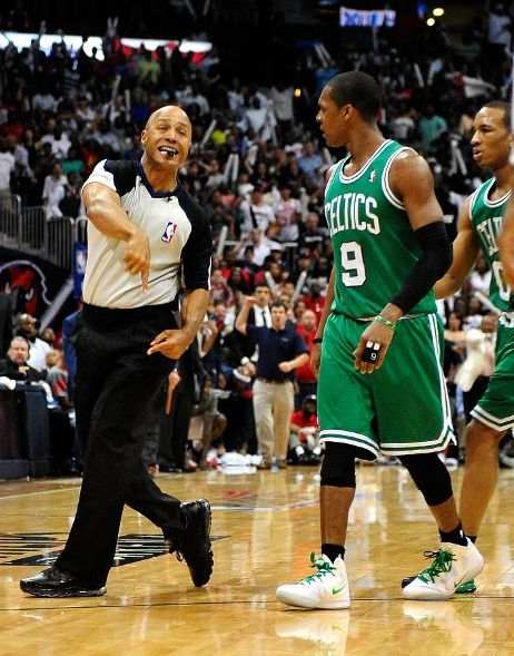 fyeahbostonceltics:  Rondo might or might not be suspended    I hope he doesnt, you look at that clip he just tripped, and his momentum carried him forward.