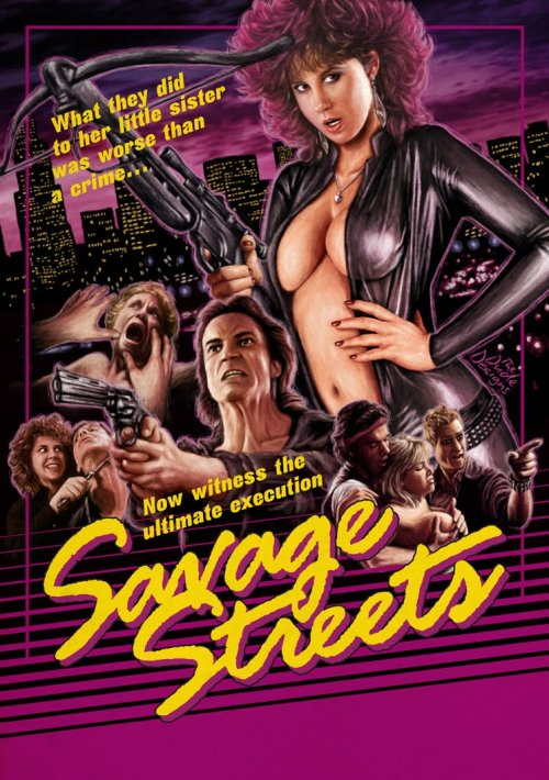 Savage Streets (1984) What They Just Did To Her Little Sister Is Worse Than A Crime … Now Witness The Ultimate Execution!