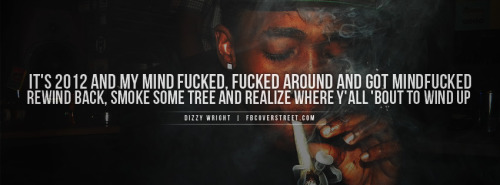 Dizzy Wright Smoke Some Tree Facebook Cover
