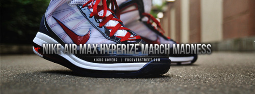 Nike Air Max Hyperize March Madness Facebook Cover