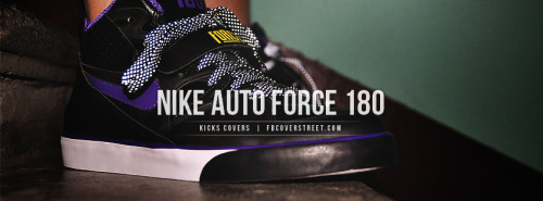 Nike Auto Force 180 Facebook Cover