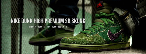 Nike Dunk High Premium SB Skunk Facebook Cover