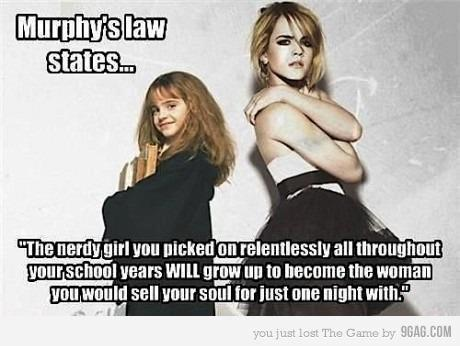 And that's why I always liked Hermione.