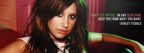 Ashley Tisdale Facebook Covers