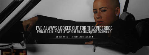 Amber Rose Facebook Covers