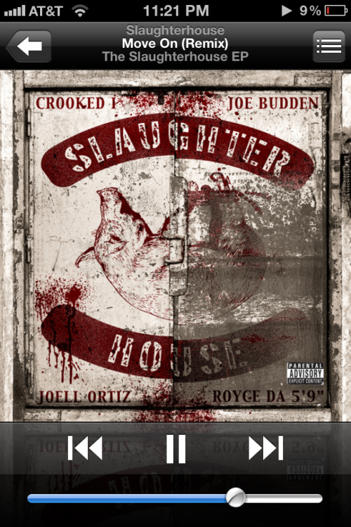 If their was a slaughterhouse song I had to recommend to everyone it would be this one… What hip hop really is, people who went threw the struggle to get to a better place and telling real stories about their life and grateful for what they have done and have now.