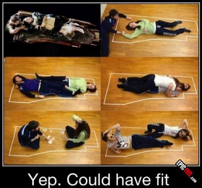 I KNEW it. #TitanicFail
