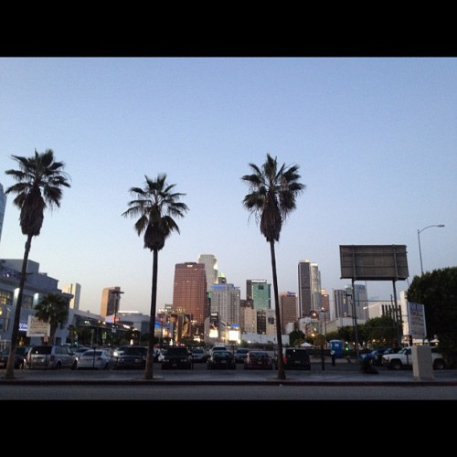 Downtown L.A (Taken with instagram)
