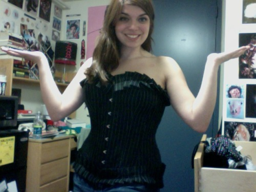 GPOY: My Entry Into Orchard Corset's Contest Edition. Unfortunately this particular corset is a little big on me now, but I still love it.