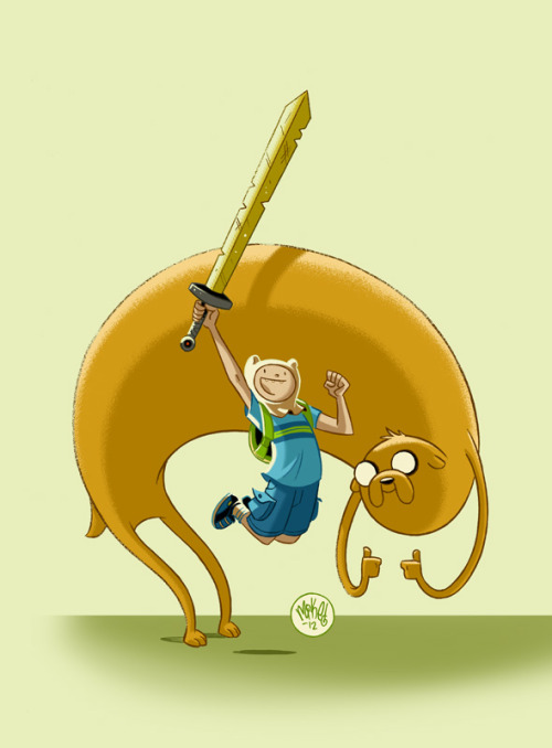 Finn and Jake by *mikemaihack