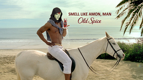 therandomgirl:  thatshitkorrayo:  kawree:  Amon a horse.  These puns. THESE PUNS  THE BEST PUN EVER. EVERYONE ELSE GO HOME.