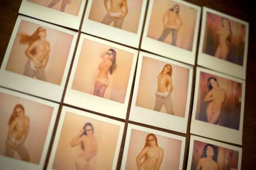 anpmodel:  Polaroids in St. Pete with Doug! :-)