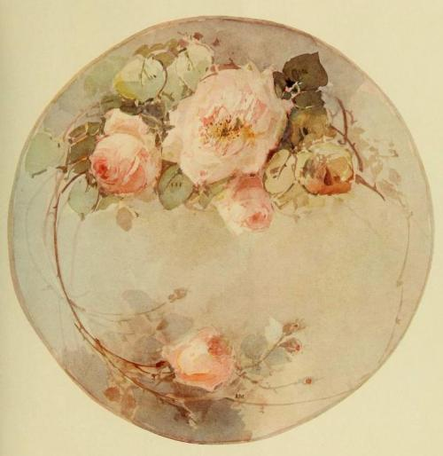 windypoplarsroom:  1900s China Painting