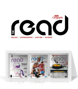 logo and illustration | ASIAN Geographic THE READ is dedicated to providing entertaining and educational stories from around Asia.