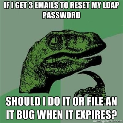LDAP passwords