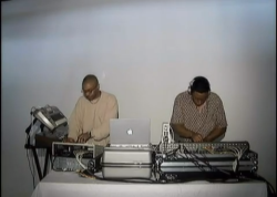 weformlikevoltron:  Octave One from Jeff Mills Exhibitionist film (2004)