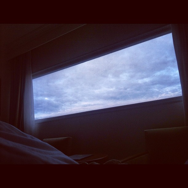 Good morning from bed, Paris. Will miss you xx (Taken with Instagram at Best Western Hotel Paris CDG)