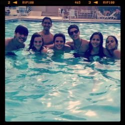 #friends #sun #pool #fun #Venezuela #iphone
