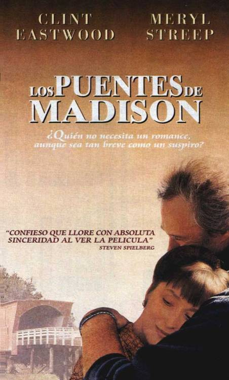 """Los puentes de Madison"" o ""The Bridges of Madison County"""