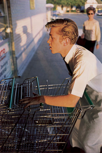 An icon, William Eggleston