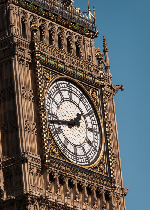 Clock Tower, Palace of WestminsterLondon, England26 March 2012