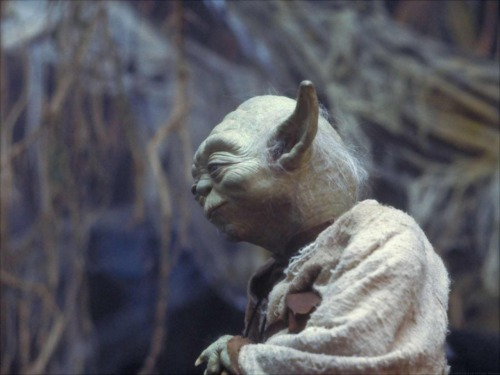 retrostarwars:  Yoda remembers a sandwich he once ate.