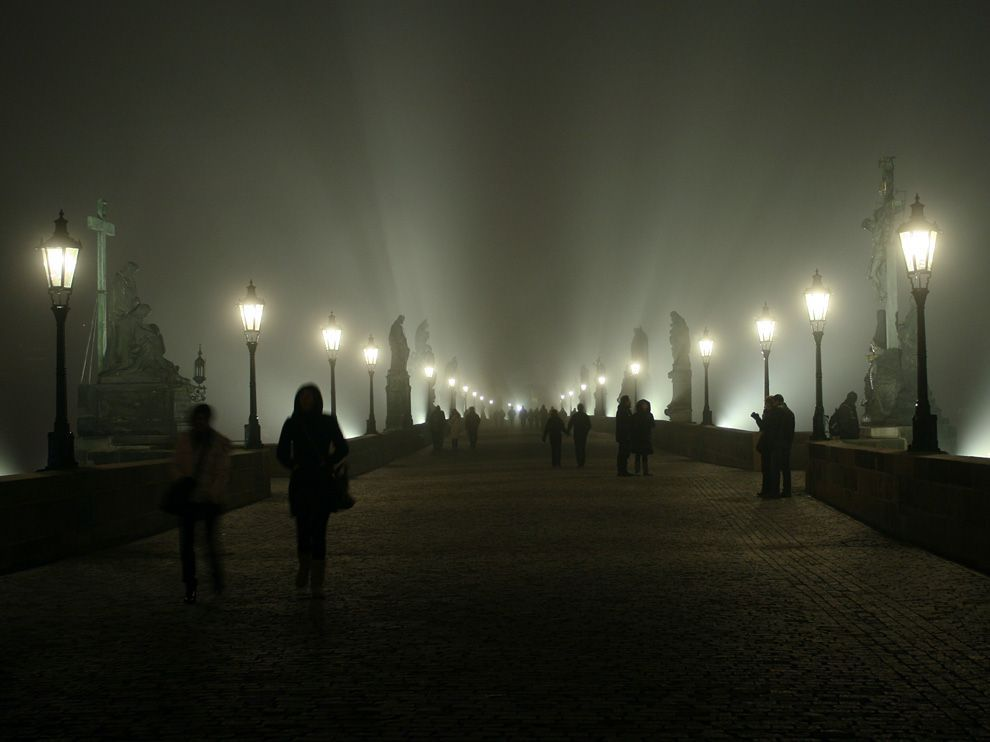Charles Bridge, Prague Photograph by Scott McGarvey