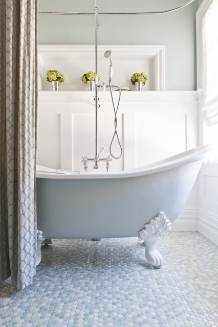(via Kelly Scanlon Interior Design - traditional - bathroom - san francisco - by Kelly Scanlon Interior Design)
