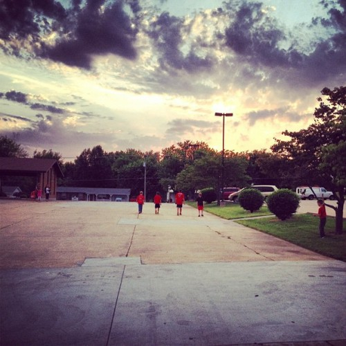 Future of Gods Church walking into His sunset (Taken with instagram)